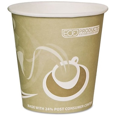 Eco-Products® Evolution World™ 24% PCF Hot Drink Cup, 10 oz., Tan, 50/Pack