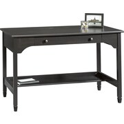 "Sauder® Edge Water Mobile Lifestyle Writing Desk, Estate Black, 29.375""H x 46.625""W x 24""D"
