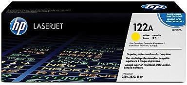 HP 122A Yellow Toner Cartridge (Q3962A), High Yield