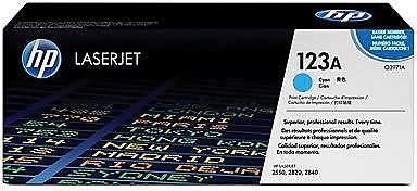 HP 123A Cyan Toner Cartridge (Q3971A)