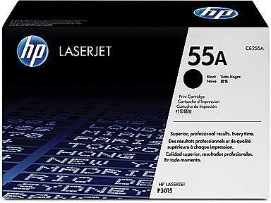 HP 55A Black Toner Cartridge (CE255A)