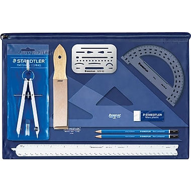 Staedtler® Beginner Drafting Kit, 11-Piece Kit