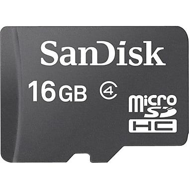 SanDisk® – Carte mémoire UHS-I microSDHC™, 16 Go, (SDSDQM016GB35SA)