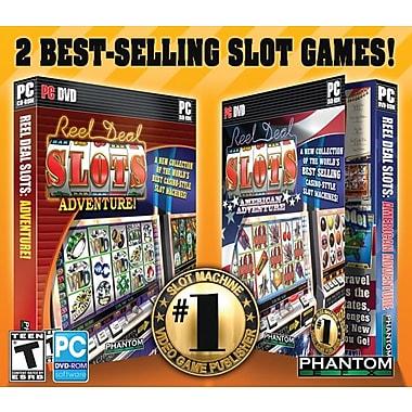 Reel Deal Slot Adventure (2 Pack) [Boxed]