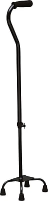 DMI® Adjustable Quad Cane, Black