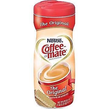 Nestle® Coffee-mate® Coffee Creamer, Original, 22 oz Powder Creamer, 1 Canister