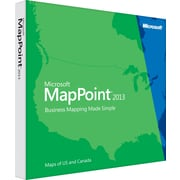 Microsoft® MapPoint® 2013 [Boxed]