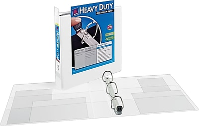 Avery Extra-Wide Heavy-Duty View Binder with 1-1/2