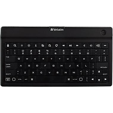 Verbatim, Ultra-Slim Bluetooth Wireless Mobile Keyboard, Black