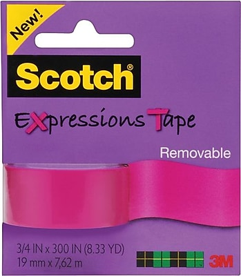 Scotch® Expressions Washi Tape, 3/4