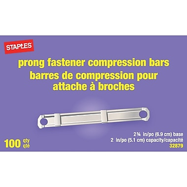 Staples® Prong Steel Fasteners, 2-3/4