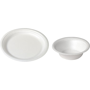 SOLO® Basix® Foam Plates and Bowls