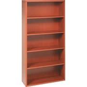 "HON® Valido™ 11500 Series Bookcase, 71""H x 36""W x 13 1/8""D, Bourbon Cherry"