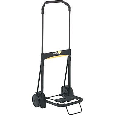 Kantek ® Luggage Carts Steel, Aluminum, Black