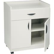 """Safco® Mobile Laminate Machine Stand Furniture Grade, Gray, 36 1/4""""H x 30""""W x 20 1/2""""D"""