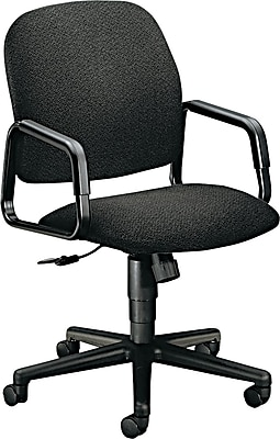 HON® 4000 Solutions Seating® High-Back Fabric Manager Swivel/Tilt Chair, Black