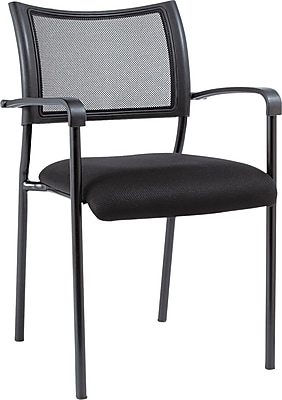 Alera Eikon Steel Guest Chair, Black (ALEEK43ME10B)