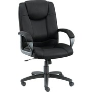 Alera Logan Mesh Managers Office Chair, Fixed Arms, Black (ALELG41ME10B)