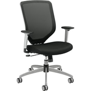 HON Sandwich Mesh Computer and Desk Office Chair, Adjustable Arms, Black (HMH01MM10C.COM) NEXT2017
