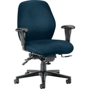 HON® HON7828NT90T 7800 Series Fabric Mid-Back Office Chair with Adjustable Arms, Mariner