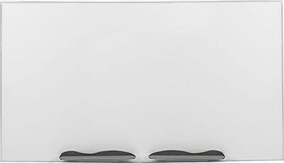 Best-Rite Ultra Trim Dry Erase Porcelain Whiteboard, Aluminum Frame, 6'W x 4'H