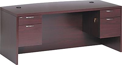 HON® Valido™ 11500 Series Bow Top Double Pedestal Desk, 29 1/2