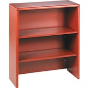 "HON® 10700 Series Bookcase Hutch, 37 1/8""H x 32 5/8""W x 14 5/8""D, Henna Cherry"