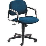 HON® Solutions Seating® Mid-Back Swivel Chair, Blue