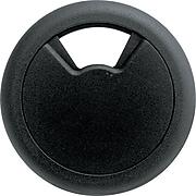 """Master Caster Grommet, 2"""" Diameter, Black (00201)"""