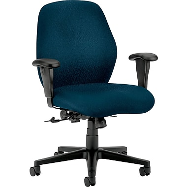 buy hon 7823nt90t mid-back office chair, blue at staples