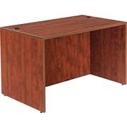 "Alera™ Valencia Straight Front Desk Shell, 29 1/2""H x 47 1/4""W x 29 1/2""D, Medium Cherry"