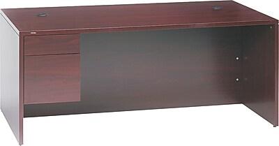 HON® 10500 Series Workstation pedestal Desk, 29 1/2