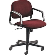 HON® Solutions Seating® Mid-Back Swivel Chair, Burgundy