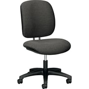 HON ComforTask Fabric Computer and Desk Office Chair, Armless, Gray (H5901AB12T.COM)