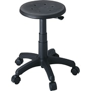 "Safco 21"" Office Stool, Black (5100)"