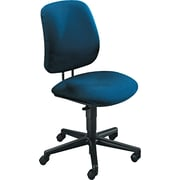 HON 7700 Series Fabric Computer and Desk Office Chair, Blue, Armless Arm (H7701HAB90T)