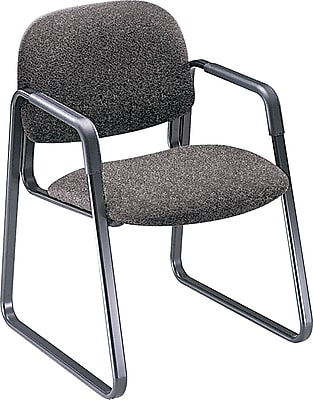 HON® Solutions Seating® Fabric Sled Base Guest Chair, Gray (HON4008AB12T) NEXT2017