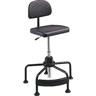 Safco® TaskMaster® Industrial Seating Self-Skinning Polyurethane Foam Drafting, Black