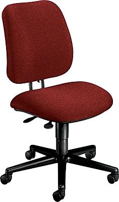 HON® 7700 Multi-Task Fabric Chair, Burgundy