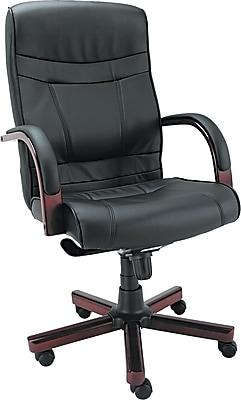 Alera® Madaris Series Swivel/Tilt Leather Executive Chairs; High Back