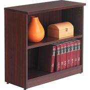 "Alera™ Valencia Bookcase Storage System, 29 1/2""H x 31 3/4""W x 12 1/2""D, Mahogany"