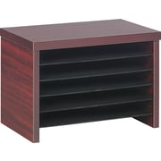 "Alera Valencia Under Counter File Organizer Shelf, 10 3/4""H x 15 3/4""W x 9 3/4""D, Mahogany"