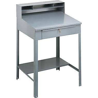 Tennsco SR57MG Shop Desk, Gray