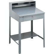 Tennsco SR57MG Shop Desk, Gray