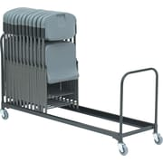 "Iceberg ® 8' Folding Chair Cart, Black, 20 1/2""H x 8'D"