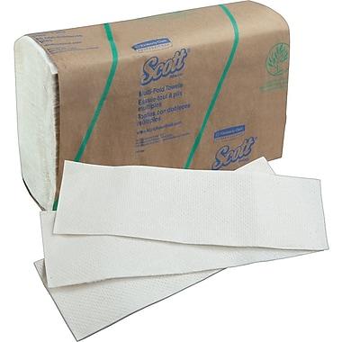 ScottMD – Essuie-tout pliés contenant 20 % de fibres de plantes, paq./16