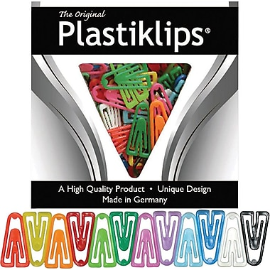 Baumgarten's Plastic Clips, X-Large, Assorted Colours