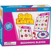 Scholastic Numbers & Counting: Spin-to-Learn: A BINGO Game