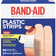BAND-AID PLASTIC 60 CT.
