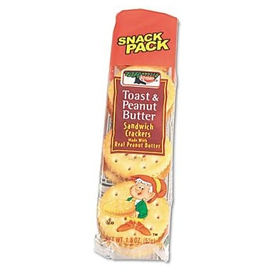 Keebler® Toast & Peanut Butter Sandwich Crackers, 12 Packs/Box